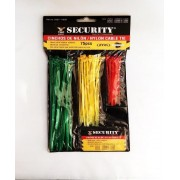AMARRA PLASTICA COLORES  SURT ( SECURITY )
