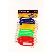 SET DE 20 LLAVEROS PLASTICOS SECURITY